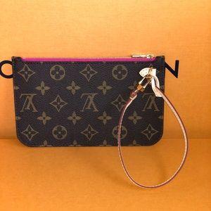 Louis Vuitton Neverfull PM Monogram Pivone pouch
